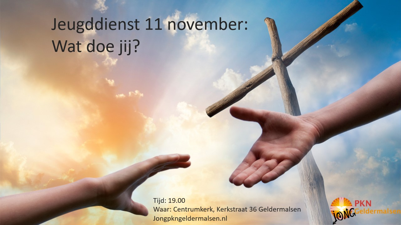 jeugddienst 11 november 2018 0